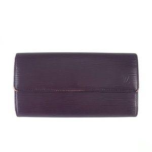 Louis Vuitton Epi Leather Long Wallet